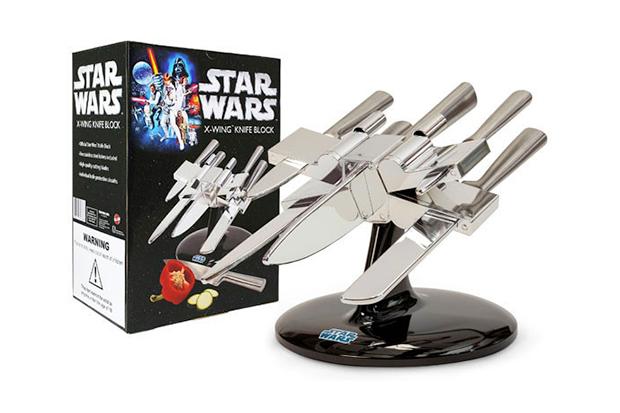 Star Wars X-Wing Starfighter Knife Block