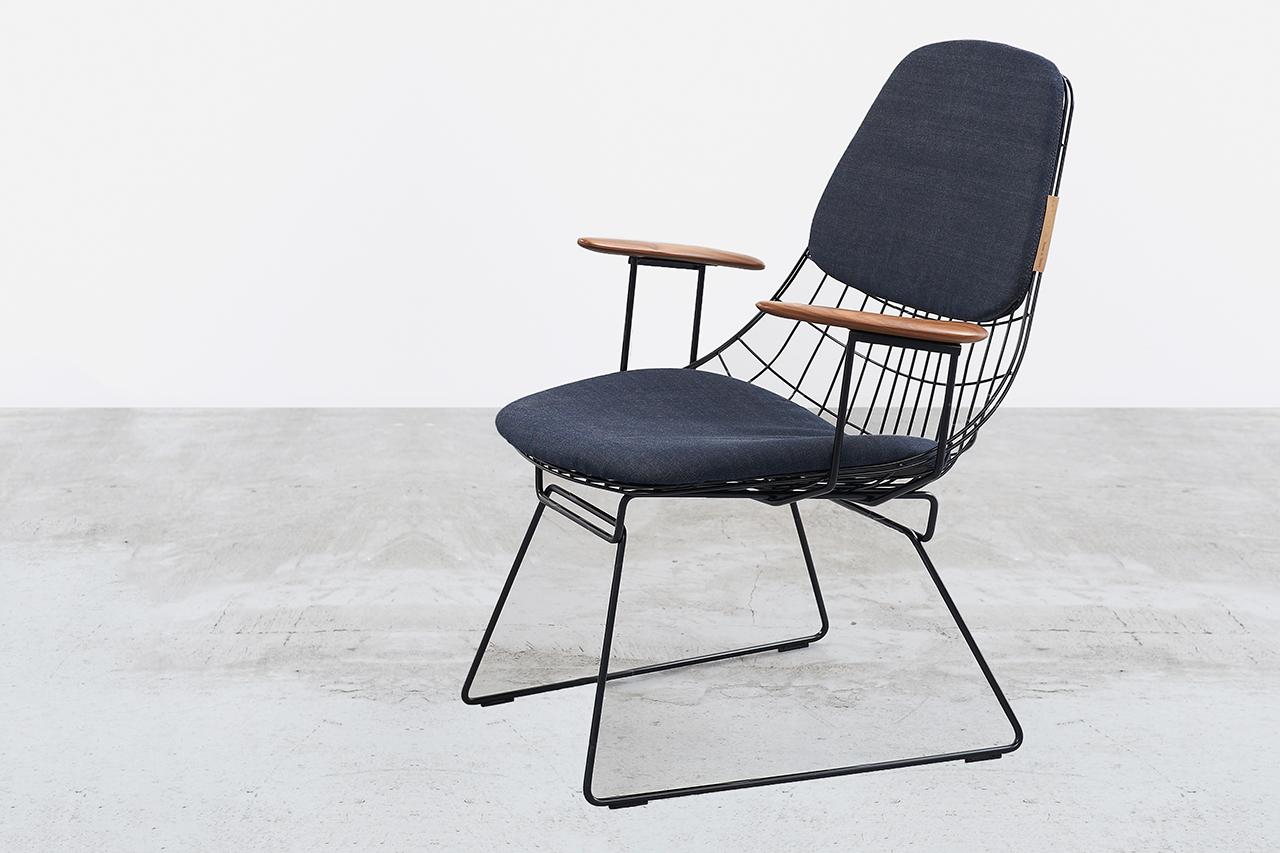 tenue de nimes x pastoe fm06 lounge chair