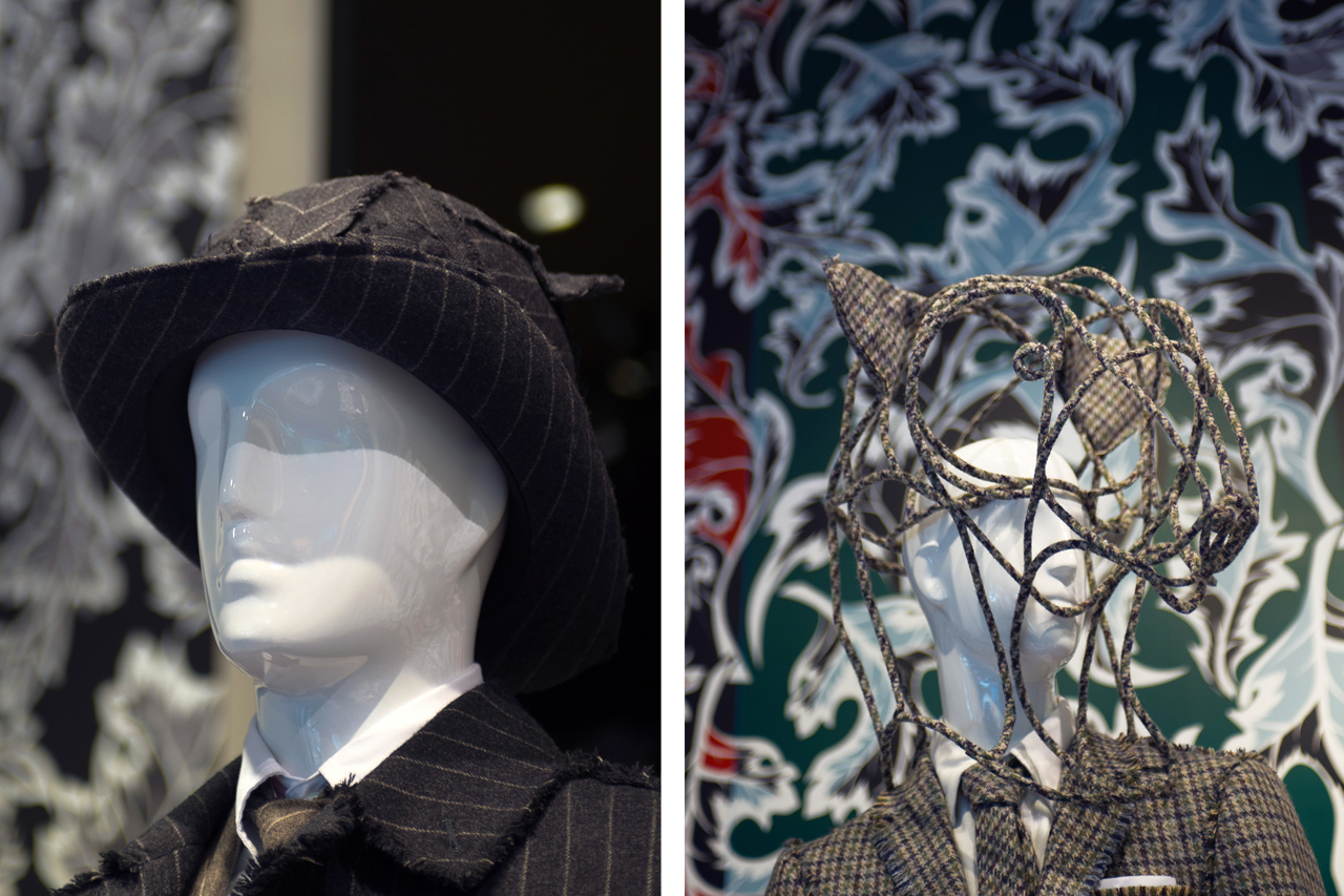Thom Browne x Stephen Jones Hat Exhibition @ Joyce Recap