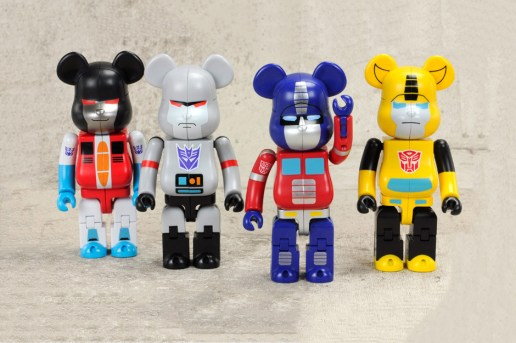 Transformers Medicom Toy Bearbrick Collection