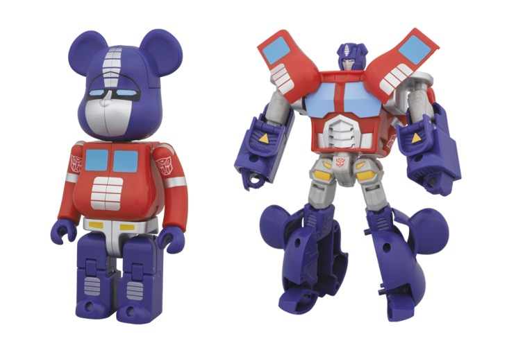 Transformers x Medicom Toy Bearbrick Collection