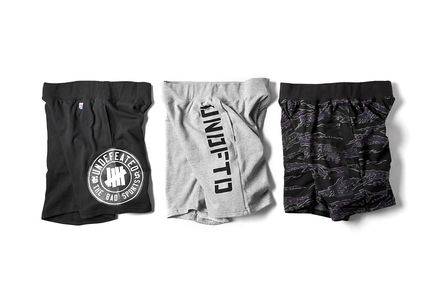 undefeated 2014 spring summer sweat shorts