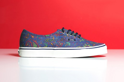 "Vans Authentic ""Blue Paisley"""