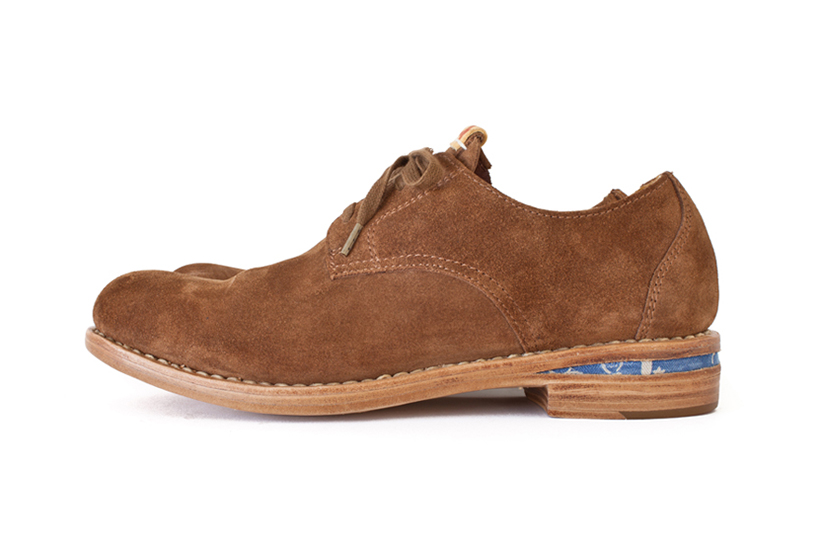 visvim 2014 summer plain toe folk