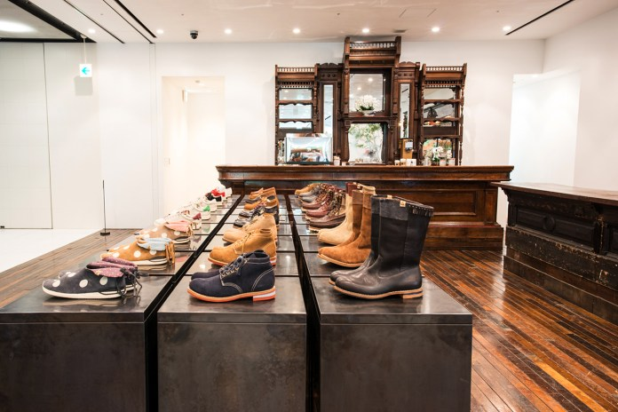 visvim Flagship Store and little cloud coffee