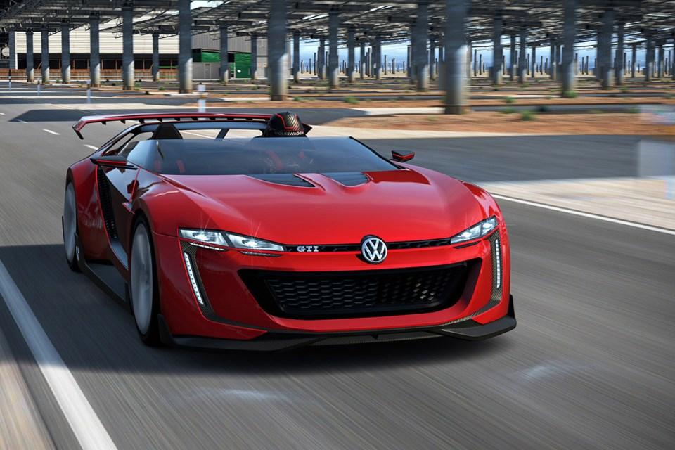 Volkswagen GTI Roadster Vision Gran Turismo | HYPEBEAST