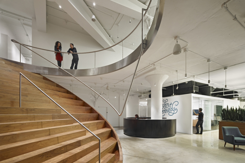 workac finishes renovations for wiedenkennedy ny