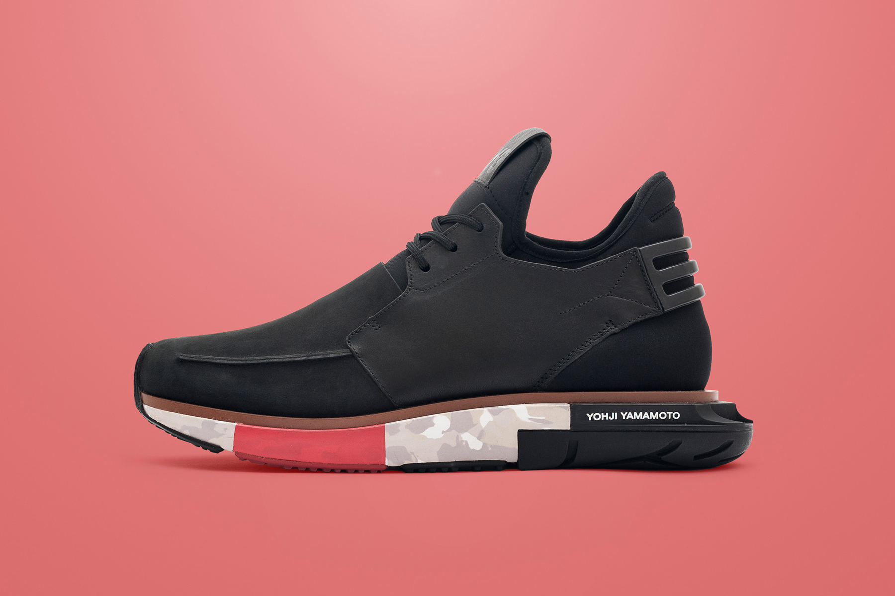 Y-3 2014 Fall Hayex Low Black/Red/Camo