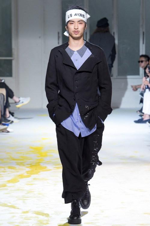 Yohji Yamamoto 2015 Spring/Summer Collection