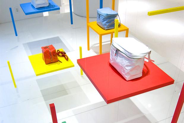 yoichi yamamoto x issey miyake ch air s installation