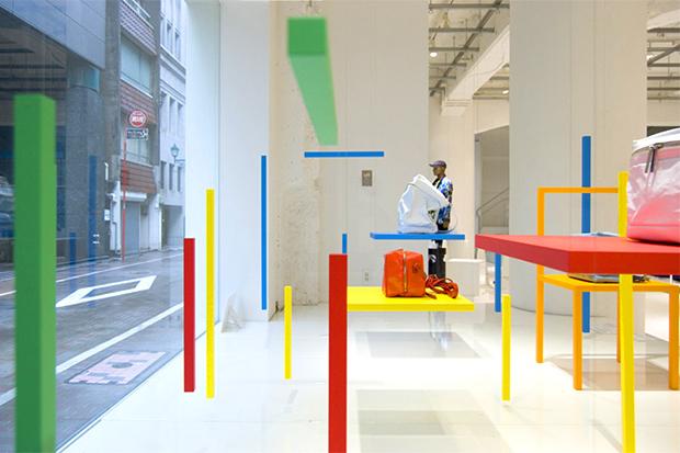 """Yoichi Yamamoto x Issey Miyake """"CH-AIR-S"""" Installation"""