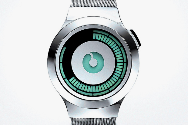 ZIIIRO Saturn Silver Watch