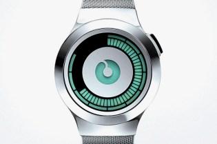 ZIIIRO Saturn Silver Watch