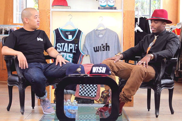 jeffstaple 1-2-1 with B.o.B