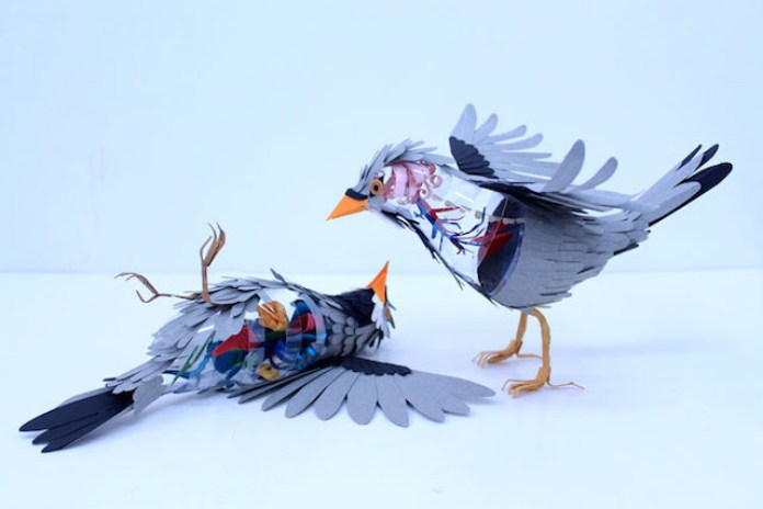 3D Bird Sculptures by Diana Beltran Herrera