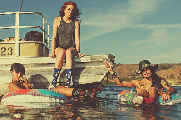 "40s & Shorties 2014 Summer ""Gone Camping"" Lookbook"