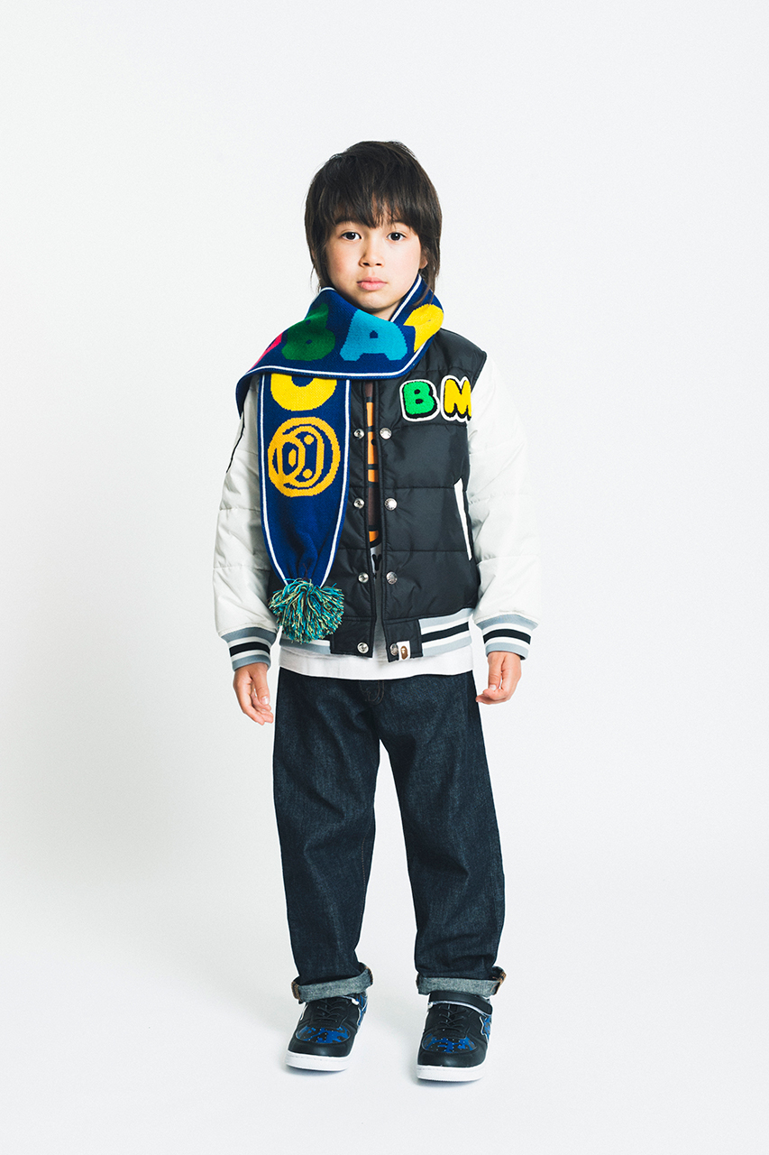 a bathing ape 2014 fall winter kids lookbook