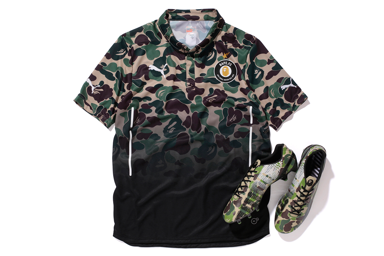a bathing ape x puma evospeed bape f c collection