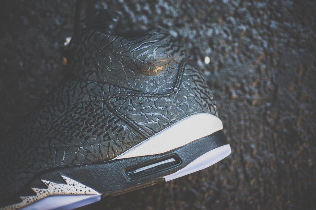 a closer look at the air jordan 3lab5 black metallic silver