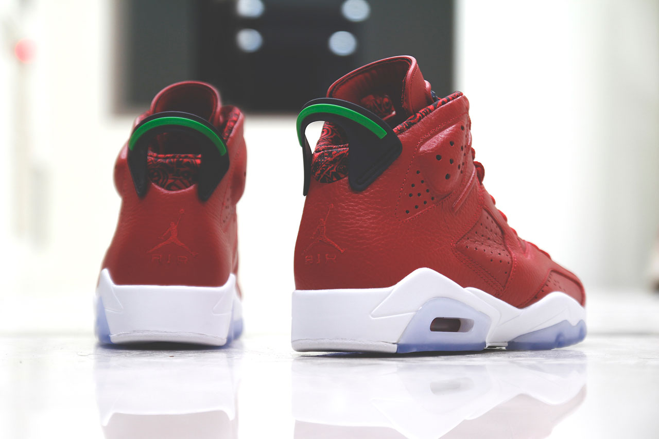 "A Closer Look at the Air Jordan 6 Retro ""Varsity Red"""