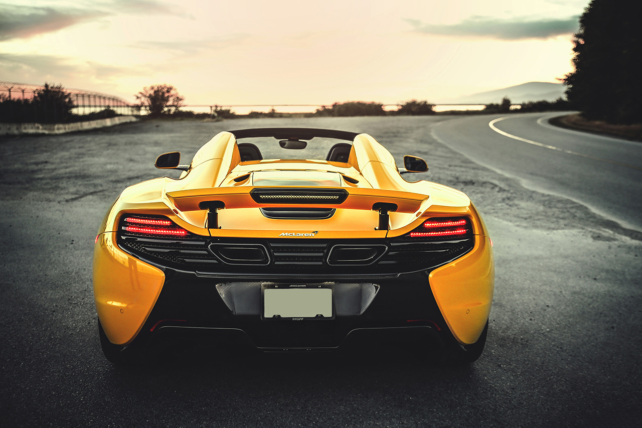 a closer look at the mclaren 650s