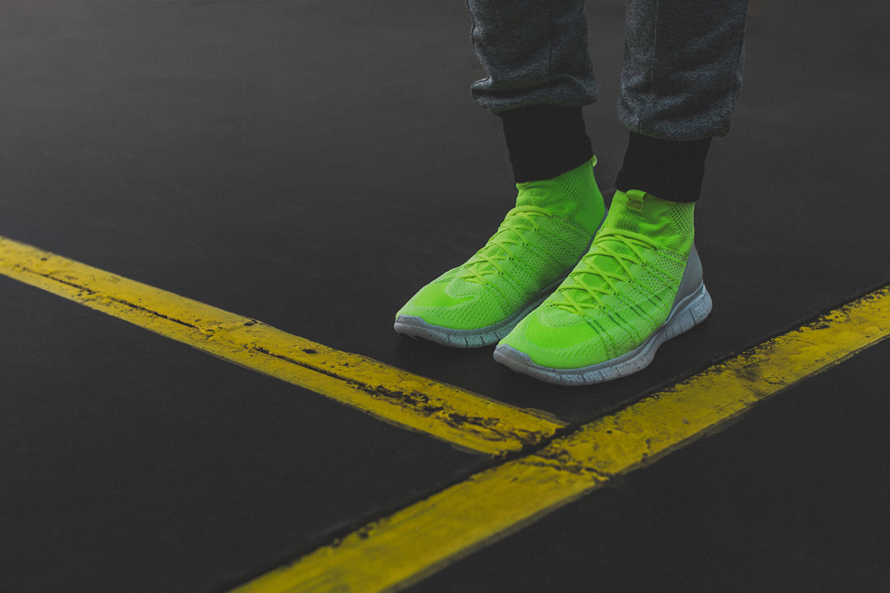 """A Closer Look at the Nike Free Mercurial Superfly HTM """"Volt"""""""
