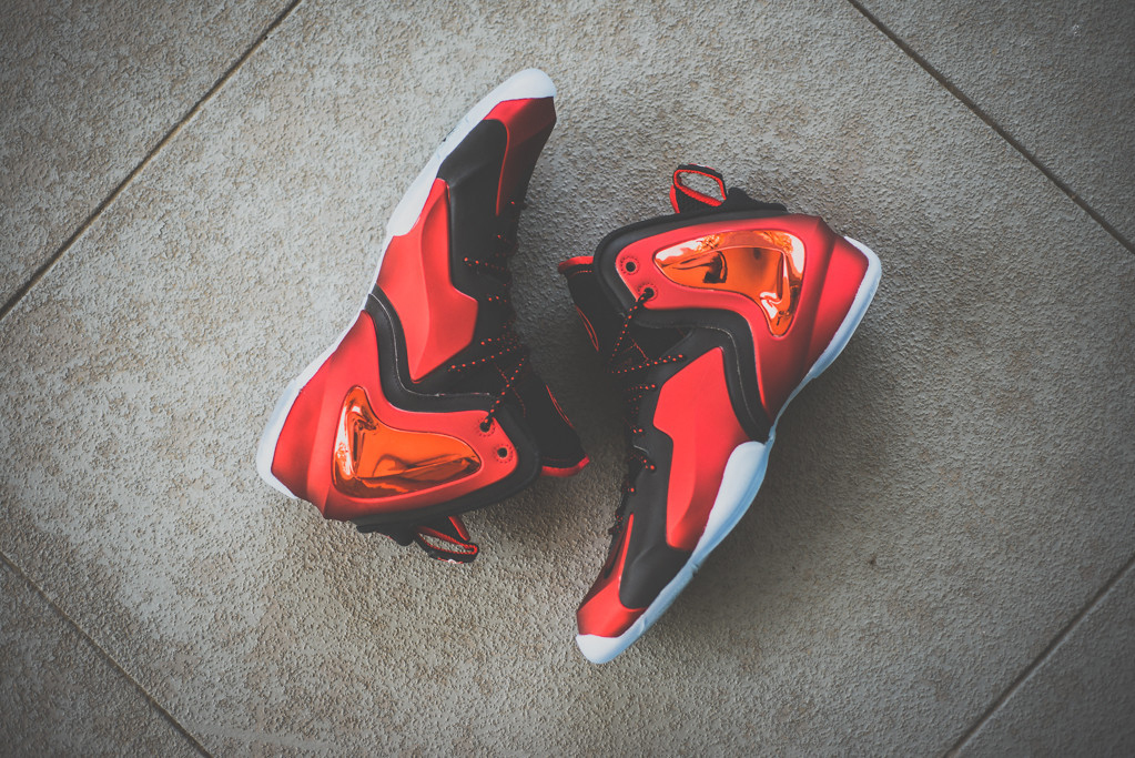 "A Closer Look at the Nike Lil Penny Posite ""University Red"""