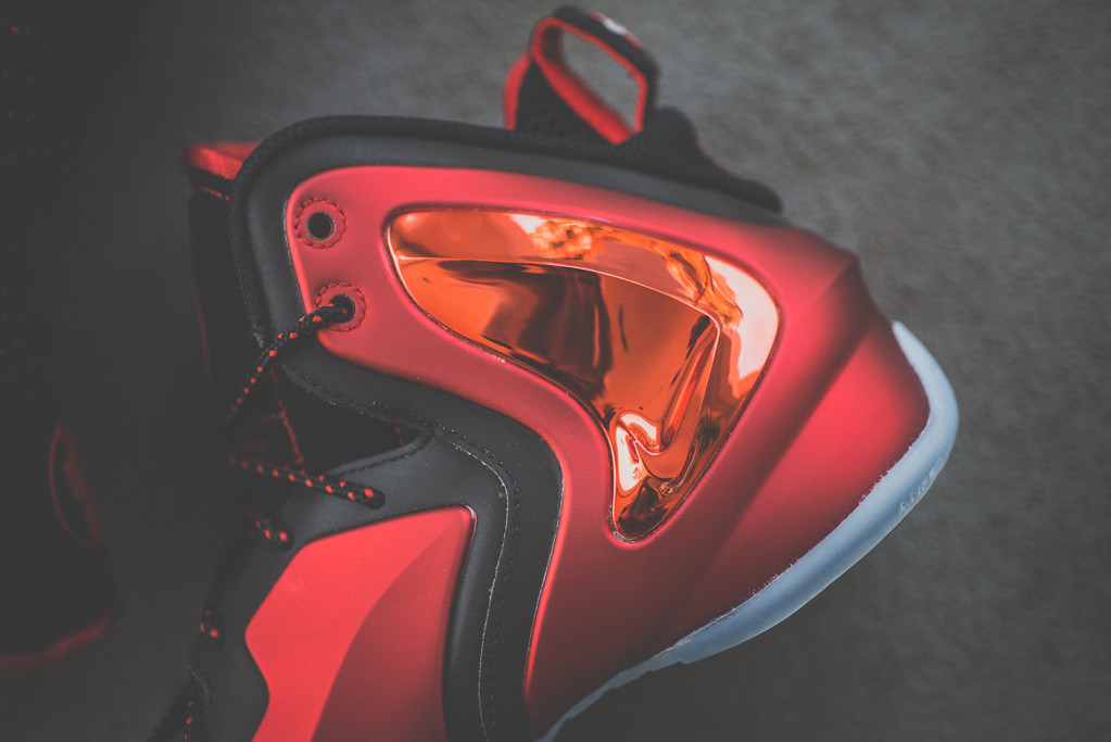 """A Closer Look at the Nike Lil Penny Posite """"University Red"""""""