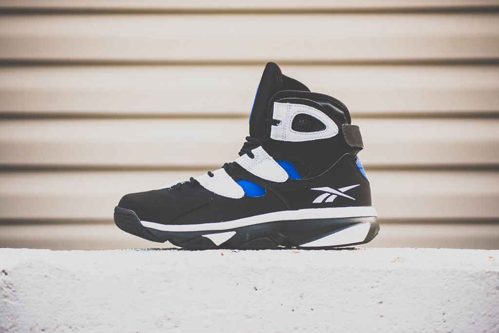 A Closer Look at the Reebok Shaq Attaq IV Black/White/Royal