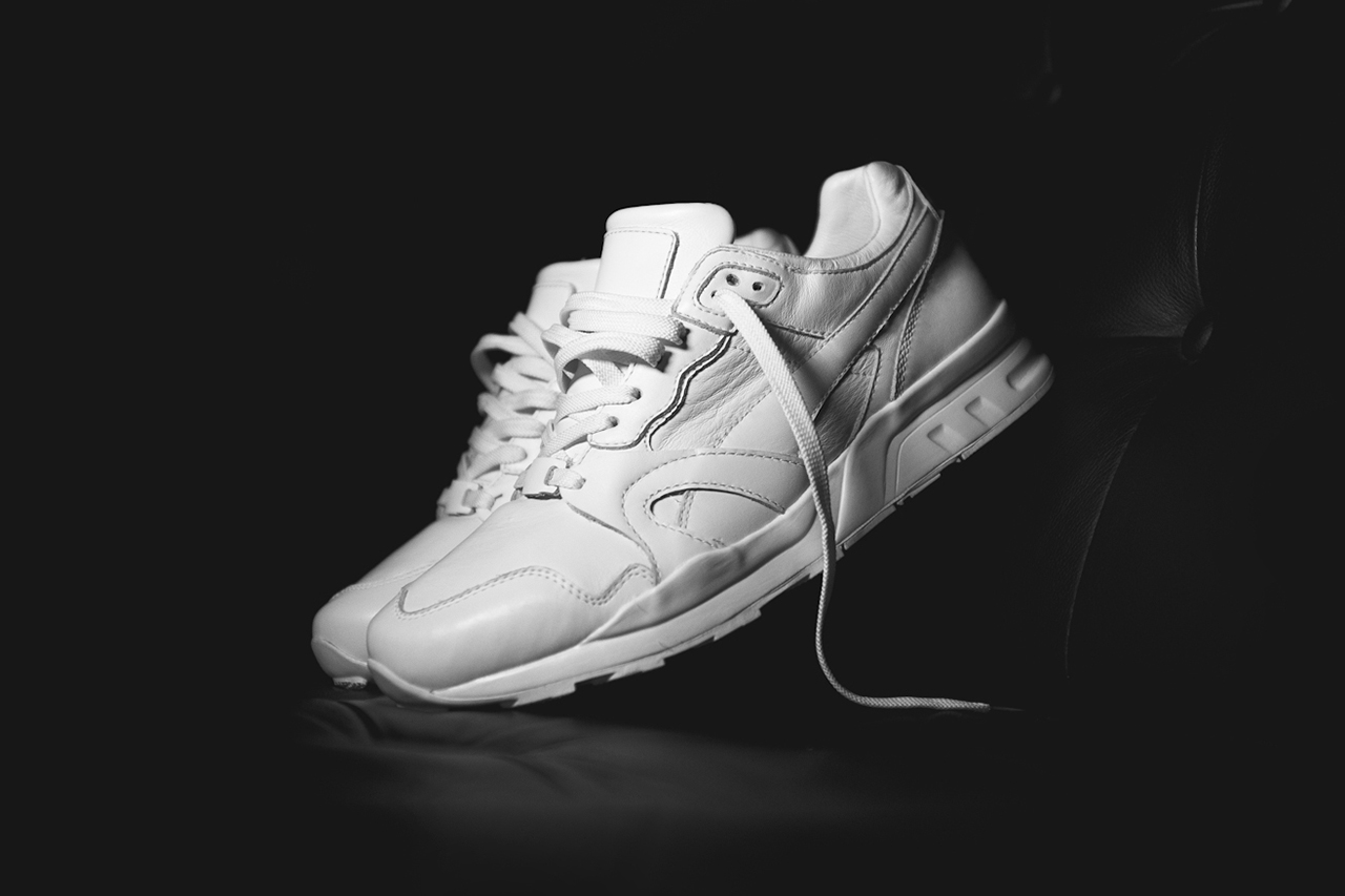 "A Closer Look at the Ronnie Fieg x PUMA XT-2 ""Achromatic"" for Dover Street Market"