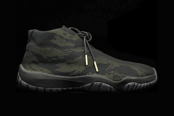 "A First Look at the Air Jordan Future ""Black Tiger Camo"""