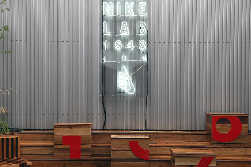 a look inside the nikelab 1948 london