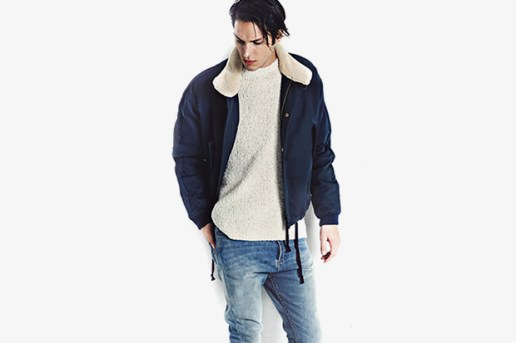 A.P.C. KANYE 2014 Fall/Winter Styled by SENSE Magazine