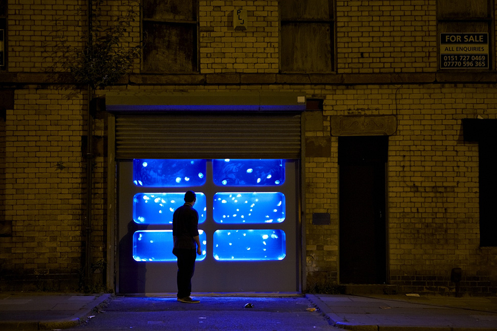 Abandoned Liverpool Warehouse Filled with Jellyfish