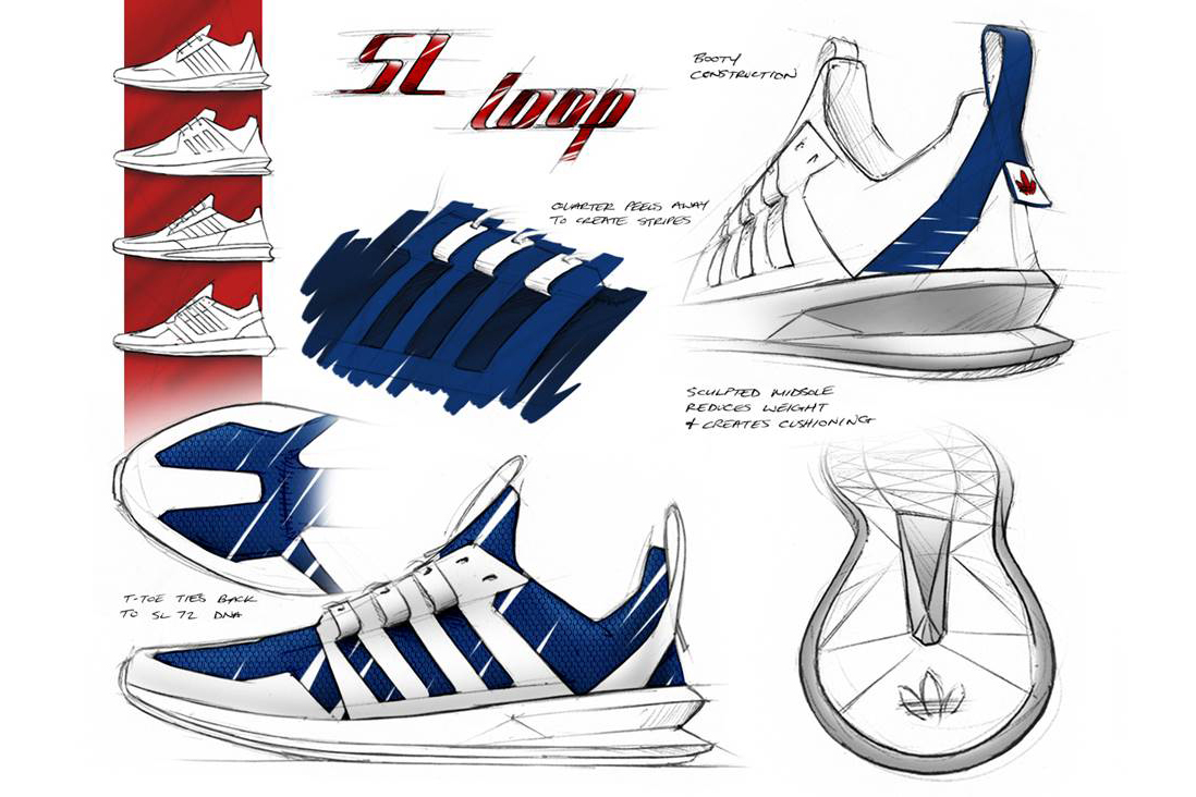 adidas designer brian foresta discusses the sl loop runner