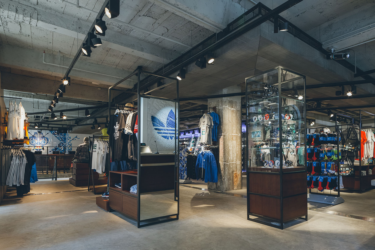 adidas originals shanghai flagship store opening hypebeast. Black Bedroom Furniture Sets. Home Design Ideas