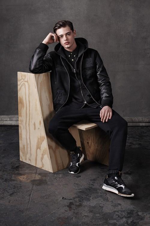 adidas Originals Blue 2014 Fall/Winter Lookbook