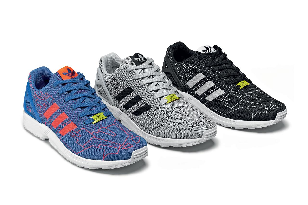 "adidas Originals ZX Flux Weave ""Pattern"" Pack"