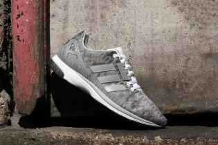 "adidas Originals ZX FLUX ZERO ""Metallic Silver"""