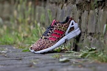 """adidas Originals WMNS ZX FLUX """"Leopard"""""""