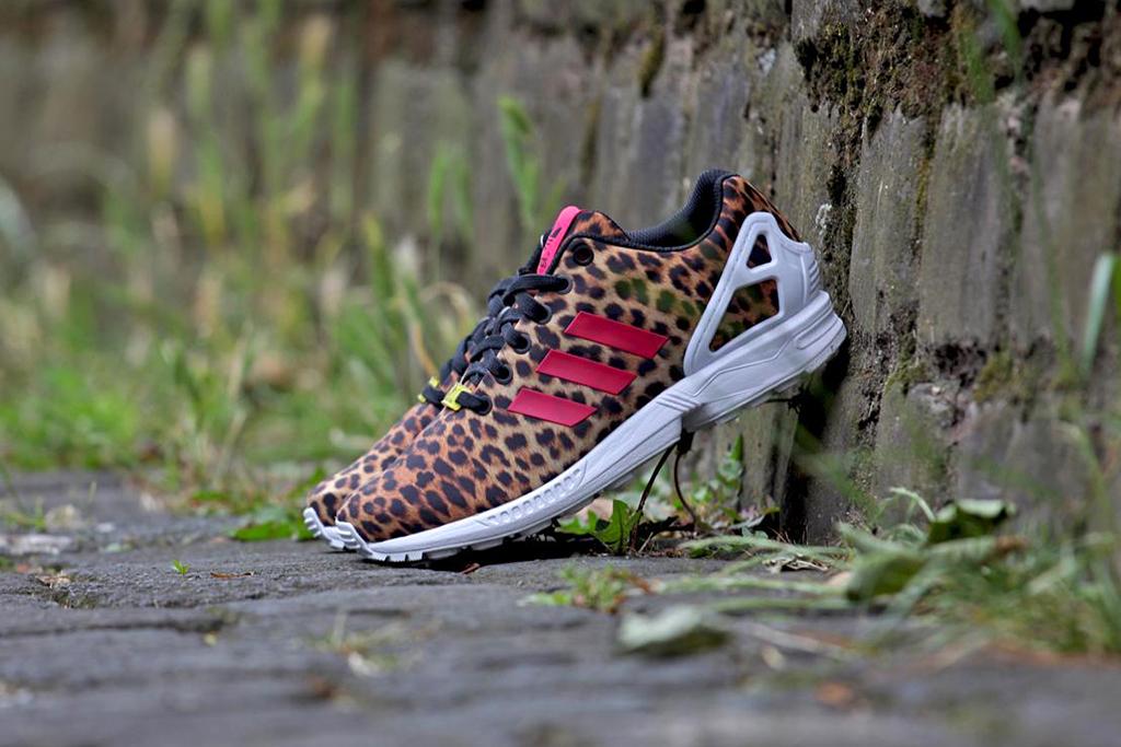 adidas wmns zx flux leopard