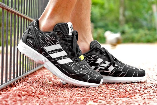 adidas Originals ZX Flux Weave Black/Running White/Onix