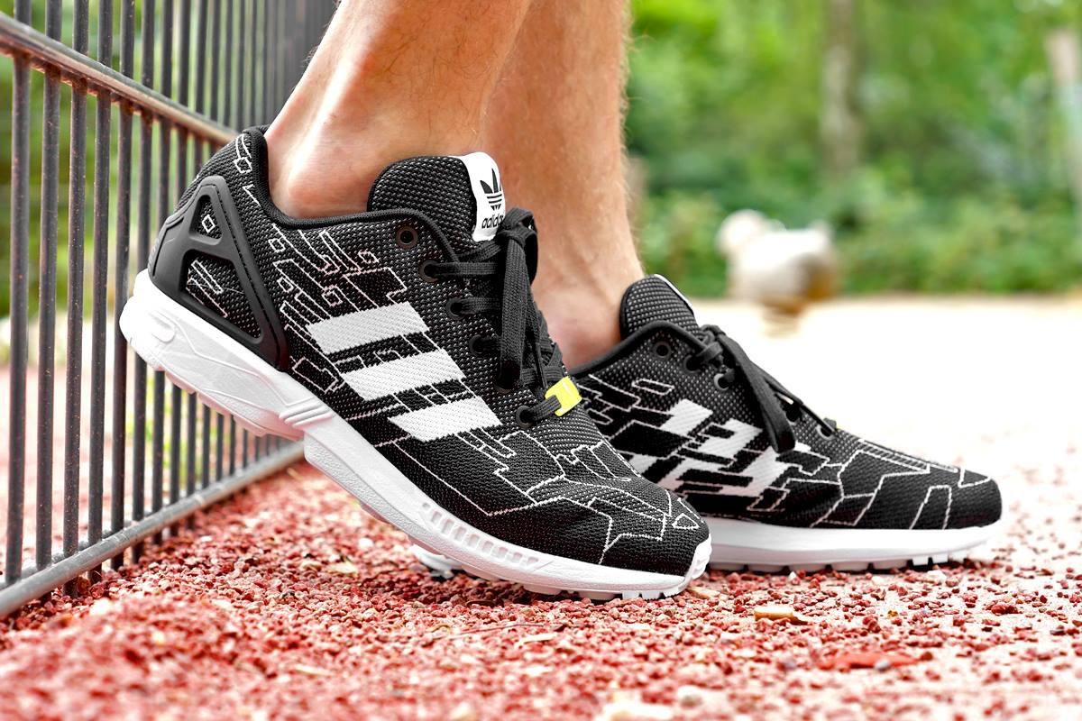 adidas Originals ZX Flux Weave Black/Running White/Onix
