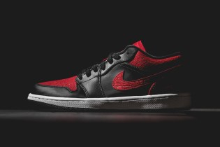 Air Jordan 1 Low Black/Gym Red