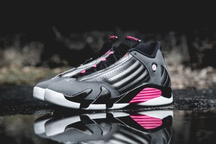 Air Jordan 14 Retro Dark Grey/Hyper Pink
