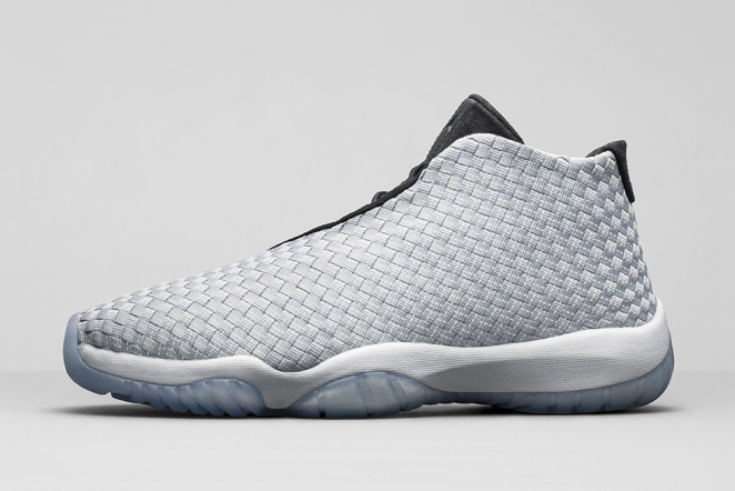 air jordan future premium metallic silver