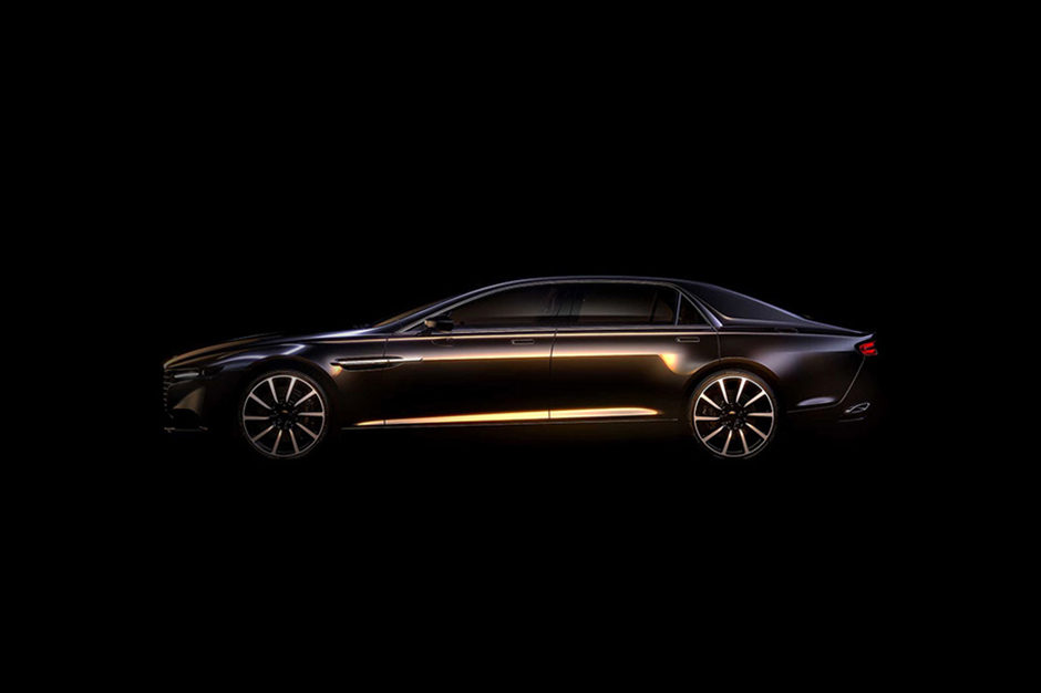 Aston Martin to Revive the Lagonda Marque with New Saloon