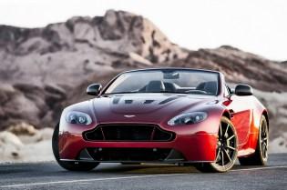 Aston Martin Debuts the New Vantage S V12 Roadster