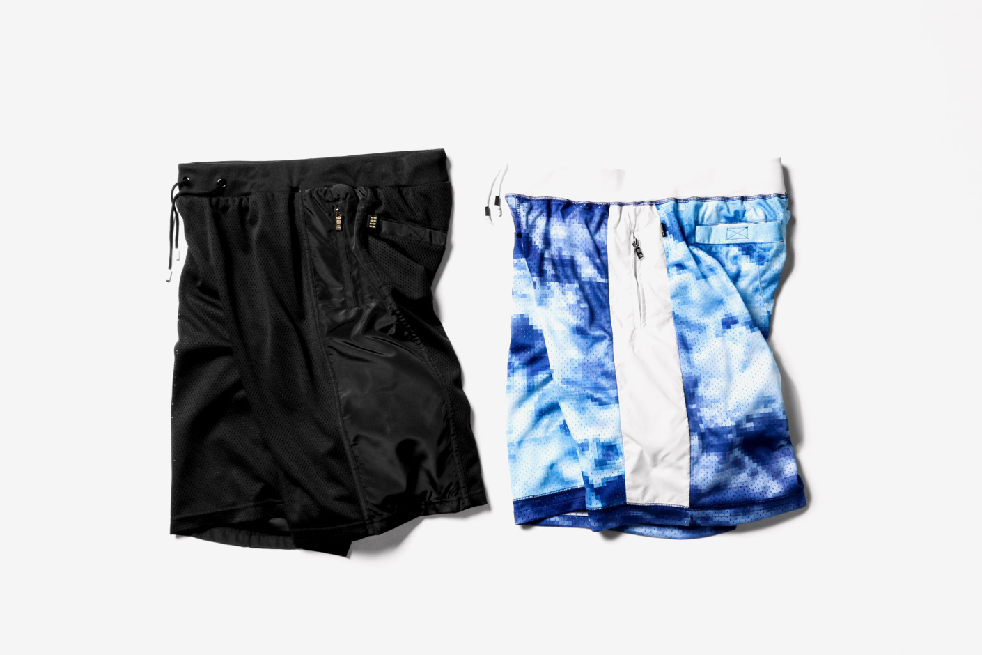 aura gold 2014 spring summer mesh shorts
