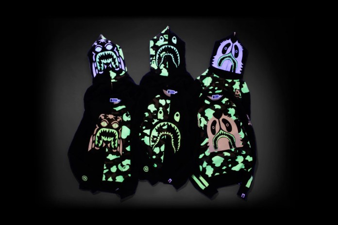 "A Bathing Ape ""Glow in the Dark"" Collection"